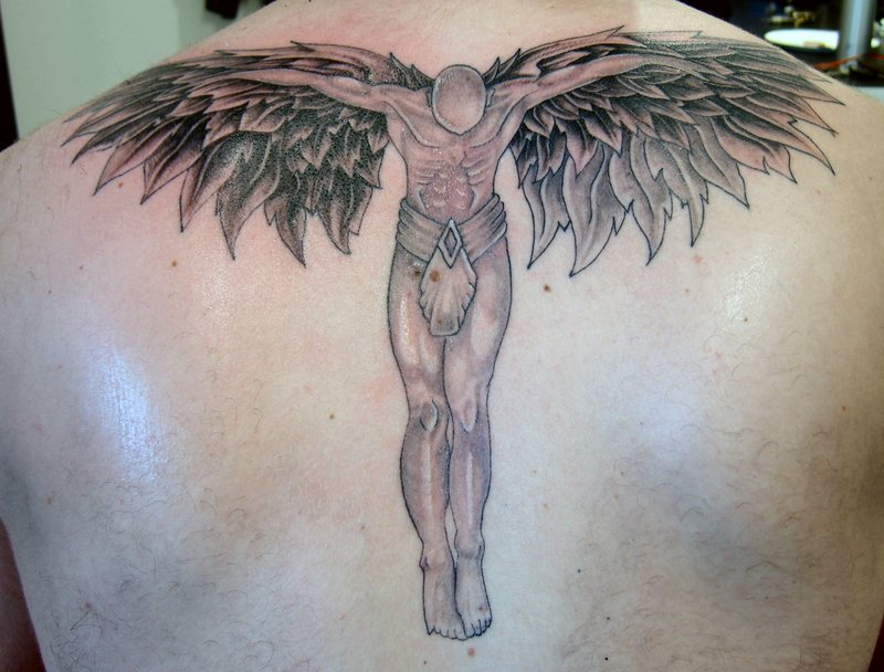 Angels Tattoos, Angels Tattoo Pictures, Angels Pictures Of Tattoos