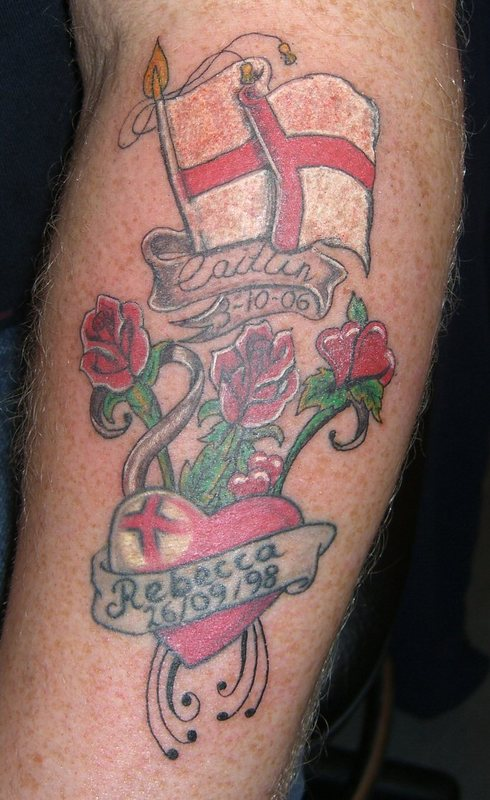 View Full Size | More http m5x eu british bulldog flag tattoo | Source ...