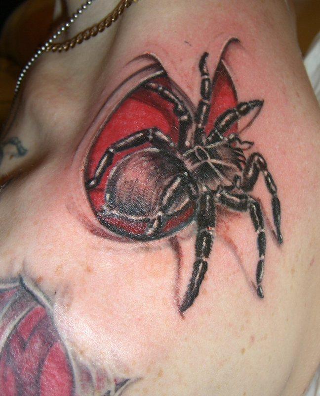 god tattoo best spider 3d tatoo designs for man picture 2010. Black Bedroom Furniture Sets. Home Design Ideas