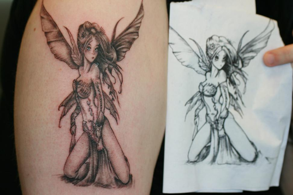 Fairy Tattoos Designs 8